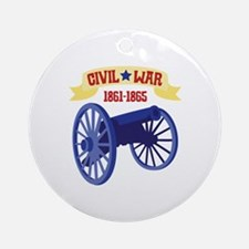 CIVIL*WAR 1861-1865 Ornament (Round)