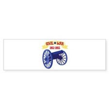 CIVIL*WAR 1861-1865 Bumper Bumper Sticker