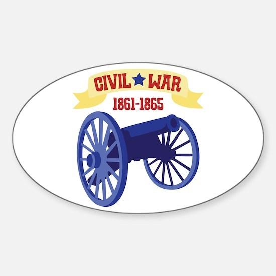 CIVIL*WAR 1861-1865 Decal