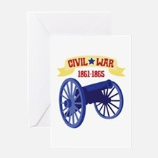 CIVIL*WAR 1861-1865 Greeting Cards
