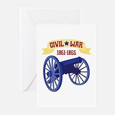 CIVIL*WAR 1861-1865 Greeting Cards