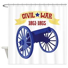 CIVIL*WAR 1861-1865 Shower Curtain