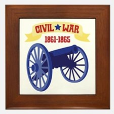 CIVIL*WAR 1861-1865 Framed Tile
