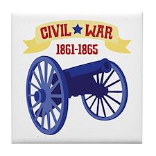 CIVIL*WAR 1861-1865 Tile Coaster