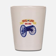 CIVIL*WAR 1861-1865 Shot Glass