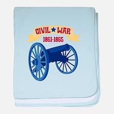CIVIL*WAR 1861-1865 baby blanket