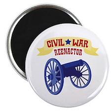 CIVIL * WAR REENACTOR Magnets