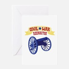 CIVIL * WAR REENACTOR Greeting Cards