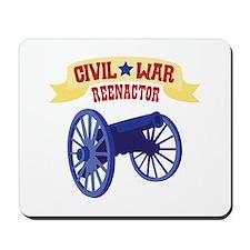 CIVIL * WAR REENACTOR Mousepad