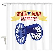 CIVIL * WAR REENACTOR Shower Curtain