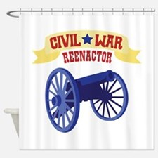 CIVIL * WAR REENACTOR Shower Curtain