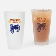 CIVIL * WAR REENACTOR Drinking Glass