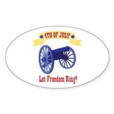 *4th Of July* Let Freedom Ring! Decal