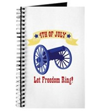 *4th Of July* Let Freedom Ring! Journal