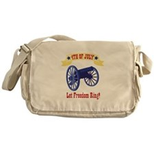 *4th Of July* Let Freedom Ring! Messenger Bag