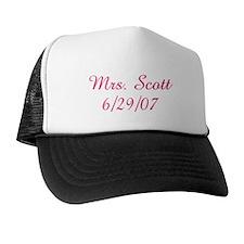 Mrs. Scott  6/29/07  Trucker Hat