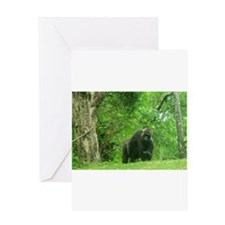 Bring It On Gorilla Greeting Cards