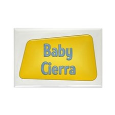 Baby Cierra Rectangle Magnet