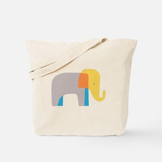 Artsy Elephant Tote Bag