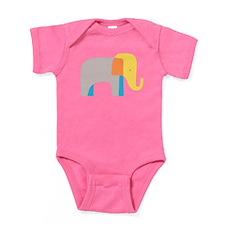 Artsy Elephant Baby Bodysuit