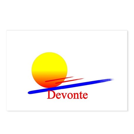 Devonte Postcards (Package of 8)
