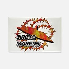 Circle Makers Rustic Rectangle Magnet