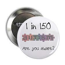 "Autism Awareness Month 1/150 2.25"" Button (100 pac"