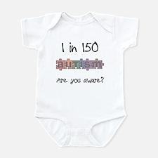 Autism Awareness Month 1/150 Infant Bodysuit
