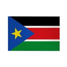 South Sudan Flag Rectangle Magnet
