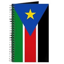 South Sudan Flag Journal