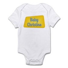 Baby Christina Onesie