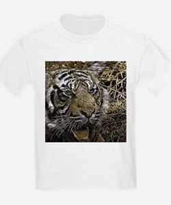 metal art tiger T-Shirt