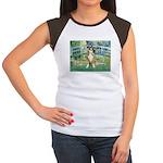 Bridge & Boxer Women's Cap Sleeve T-Shirt
