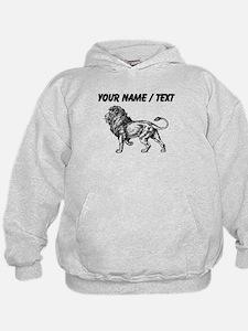 Custom Lion Sketch Hoody