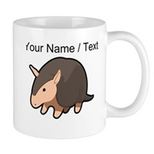 Custom Cartoon Armadillo Mugs