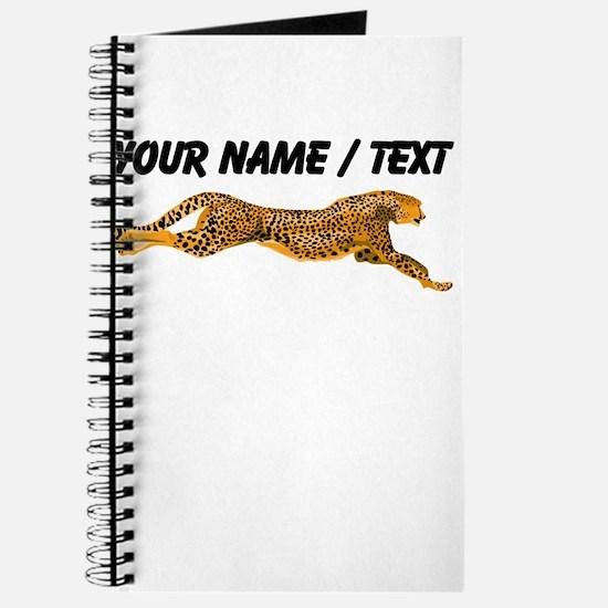 Custom Cheetah Journal