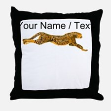 Custom Cheetah Throw Pillow