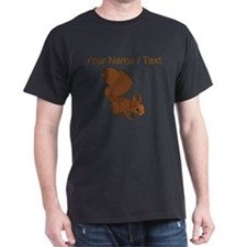 Custom Brown Squirrel T-Shirt