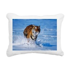 Tiger Rectangular Canvas Pillow