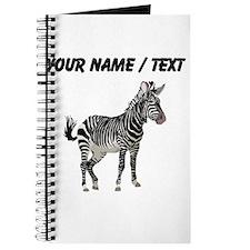 Custom Zebra Journal