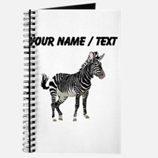 Custom Zebra Journal