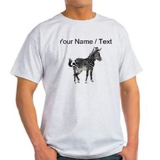 Custom Zebra T-Shirt