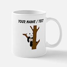 Custom Giant Panda In Tree Mugs