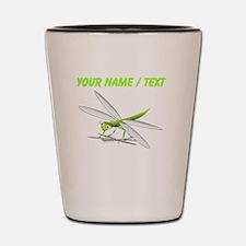 Custom Cartoon Dragonfly Shot Glass