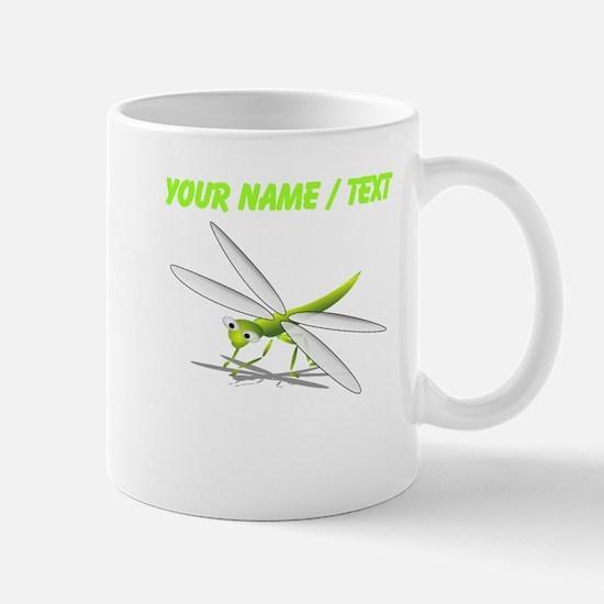 Custom Cartoon Dragonfly Mugs