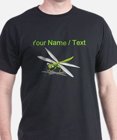 Custom Cartoon Dragonfly T-Shirt