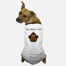 Custom Monkey Face Dog T-Shirt