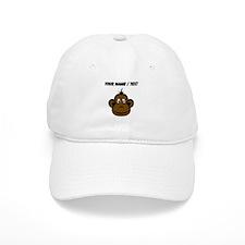 Custom Monkey Face Baseball Baseball Cap