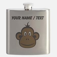 Custom Monkey Face Flask