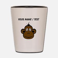 Custom Monkey Face Shot Glass